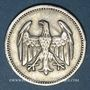 Coins Allemagne. République de Weimar. 1 mark 1925A
