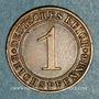 Coins Allemagne. République de Weimar. 1 reichspfennig 1935 D