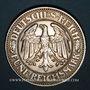 Coins Allemagne. République de Weimar. 5 reichsmark 1927A. Tilleul