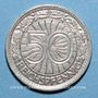 Coins Allemagne, République de Weimar, 50 reichspfennig 1928A