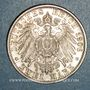 Coins Bade. Frédéric I, grand-duc (1856-1907). 2 mark 1906. Noces d'or