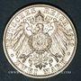 Coins Bade. Frédéric II (1907-1918). 2 mark 1913G