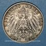 Coins Bavière. Otto (1886-1913). 3 mark 1909D