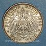 Coins Bavière. Otto (1886-1913). 3 mark 1912D