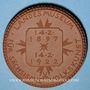 Coins Dresde. 25 Jahre Heimatschutz d. Landesmuseum. Médaille. Porcelaine