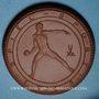 Coins Dresde. J.D.A. Spiel und Sport. Médaille 1923. Porcelaine