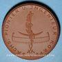 Coins Dresde. Sachsen Pionier und Ingenieur Korps. Médaille 1923. Porcelaine