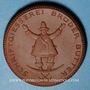 Coins Dresde. Schriftgiesserei. Brüder Butter. Médaille 1921. Porcelaine