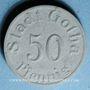 Coins Gotha. Stadt. 50 pf 1920. Porcelaine