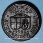 Coins Hall. Schwäbisch Hall. 20 mark 1922 en majolique noire