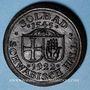 Coins Hall. Schwäbisch Hall. 20 mark 1922 en majolique noire