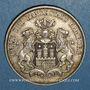 Coins Hambourg. Ville. 3 mark 1910J