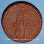 Coins Haute Silésie. Volksabstmmung. 5 mark 1921. Porcelaine