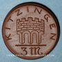 Coins Kitzingen. Stadt. 3 mark 1921. Porcelaine