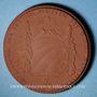 Coins Meissen. Alpenvereins. Médaille 1922. Porcelaine. 41,67 mm