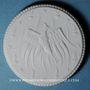 Coins Meissen. Feuerbestattungsverein. Médaille (1921). Porcelaine.