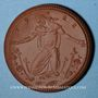 Coins Meissen. Krieger Gedächtnis Kirche. Médaille 1922. Porcelaine. 42,02 mm. N° 43022