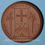 Coins Meissen. Krieger Gedächtnis Kirche. Médaille 1922. Porcelaine. 42,02 mm. N° 49854