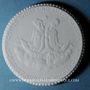 Coins Meissen. Lutherkirche. Médaille (1922). Porcelaine. 38,65 mm