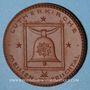 Coins Meissen. Lutherkirche. Médaille (1922). Porcelaine. 41,51 mm