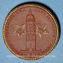 Coins Meissen. Stadt. 10 mark 1921. Glockenfond. Porcelaine