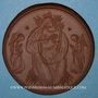 Coins Oberammergau. Passionspiele Maria. Médaille 1922. Porcelaine