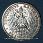 Coins Prusse. Guillaume II (1888-1918). 3 mark 1914A