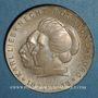 Coins République Démocratique allemande. 20 mark 1971. Karl Liebknechet & Rosa Luxembourg