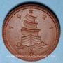 Coins Saxe. 1 mark 1921. Porcelaine