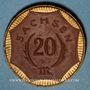 Coins Saxe. 20 mark 1921. Porcelaine