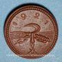 Coins Saxe. 20 pfennig 1921. Porcelaine