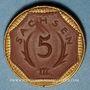 Coins Saxe. 5 mark 1921. Porcelaine