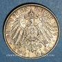 Coins Saxe. Frédéric Auguste III (1904-1918). 2 mark 1914E