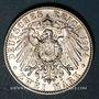 Coins Saxe. Georges (1902-04). 2 mark 1904E. Commémoration de sa mort