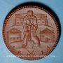 Coins Saxe Orientale. Reichsheimstättenbund. 20 mark 1921. Porcelaine