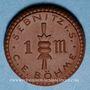 Coins Sebnitz. Sebnitz i. S. - C.E. Böhme. Firmenzeichen. 1 mark (1921). Porcelaine