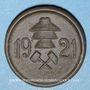 Coins Stadtlengsfeld. 25 pfennig (1921). Porcelaine