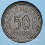 Coins Stadtlengsfeld. 50 pfennig (1921). Porcelaine