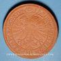 Coins Ulm. Harter Taler  de 1620.  Réédition historique en majolique