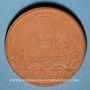 Coins Ulm. Regimenstaler de 1622.  Réédition historique en majolique