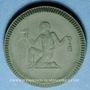Coins Waldenburg. Stadtgemeinde. 1 mark 1921. Porcelaine