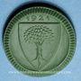 Coins Waldenburg. Stadtgemeinde. 20 pfennig 1921. Porcelaine