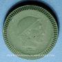 Coins Waldenburg. Stadtgemeinde. 50 pfennig 1921. Porcelaine