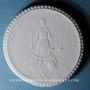 Coins Wilthen. Oberlausitzer Bundesgesangsfest. Médaille 1922. Porcelaine. 35,31 mm