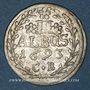 Coins Allemagne.  Archevêché de Mayence. Ansèlme François, baron d'Ingelheim (1679-1695). 2 albus 1693CB