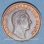 Coins Bade. Charles Léopold Frédéric (1830-1852). 1 Gedenkkreuzer 1844