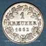 Coins Bavière. Maximilien II Joseph (1848-1864). 1 kreuzer 1862
