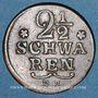 Coins Brême. 2 1/2 schwaren 1797DB