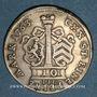 Coins Hanau-Münzenberg. Guillaume IX sous la régence de Marie d'Angleterre (1760-64). 10 kreuzers 1763IIE