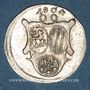 Coins Löwenstein-Wertheim-Rochefort. Dominique Constantin (1789-1806). 3 kreuzer 1804. Wertheim